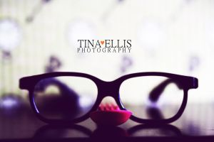spoon with glasses by tinaalreadyinlove