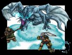 Tibian Frost Dragon by Urric