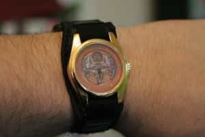 Majora's Mask Custom Watch by robertllynch