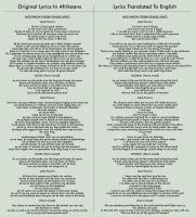 Tussen Stasies Lyrics by Blood-Huntress
