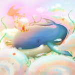 Whale you be Queen by Hannavi