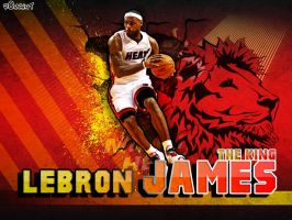 Lebron James by R0mainT