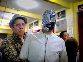 Lucha Libre Brothers by PatrickMonnier