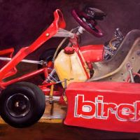 Red Go Kart by WingedCanvas