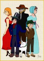 Oliver Twist and Company by YaDirtyLittleSecret