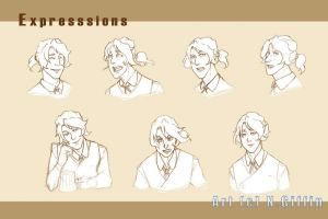 .Exodus: Wesley expressions. by xandrei