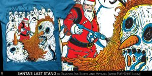Santa's Last Stand by seventhfury