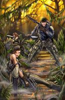 GI JOE Jungle Lady Jaye by jamietyndall