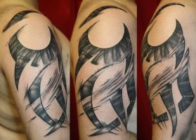 new tribal by SimplyTattoo