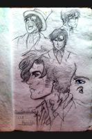 Will Herondale in my sketchbook by kara-lija