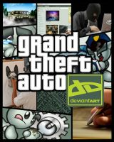 Grand Theft Auto Deviant Art by Mr-Shin