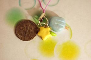 Sea Salt and Paopu Fruit Charm by FatCatCharms