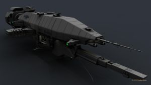 B5 Warlock Destroyer WIP 6 by 2753Productions
