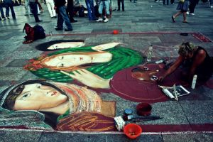 Chalk Drawing. by NikolasBrummer