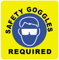 Safety Goggles Required by MrDraftsman