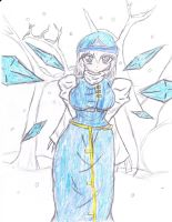 Colored in Version of  Frost Teldria by NeoCorpCompany