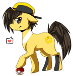 .:MLP : Gold:. by InkHeartPaw