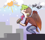 BabyBird by Captain-Hotpants