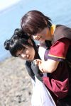 Zuko and Mai shoot by OnionKnightInc