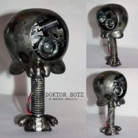 DOKTOR BOTZ, a mecha skully by PatrickL
