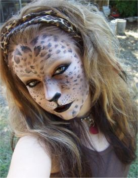 leopard woman 1 by LePr0sY