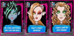 Monster High OCs Ghouls by tomboy-chan