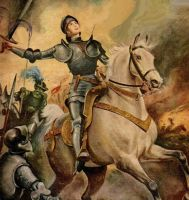 JOAN OF ARC by peterpulp