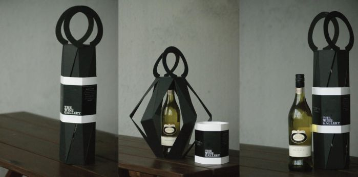 The Wine Gallery Packaging by Tebius