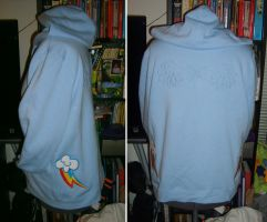 Rainbow Dash Hoodie by NeitherSparky
