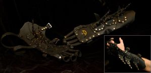 Gotham by Gaslight Gauntlets by TormentedArtifacts