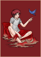 Gaara_at_the_morning by Selene-Moon