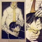 Ink/GrossTober 4: Decapitation by Rejuch