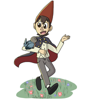 Wirt and Beatrice ( Over the Garden Wall ) by TurtleCavez
