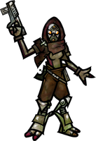 Quarian Space Pirate by WhoDrewThis