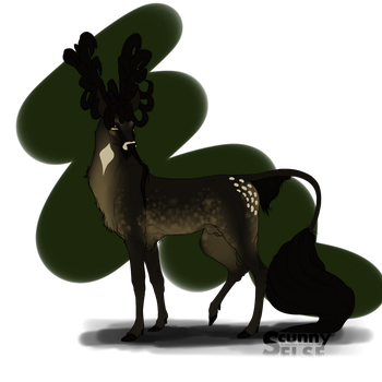 Lord Ciardair | Stag | Royal by ScunnyElse