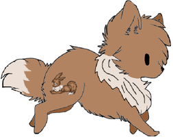 Eevee Wolf Adopt by Prettyxmouse