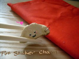 Gyoza -Pot Sticker- Charm by Demi-Plum