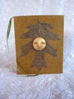 Oak Leaf Moonface Book by Longhair