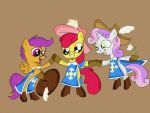 The Three Musketeers by HeinousFlame