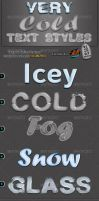 Very Cold Text Styles by kh2838