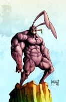 Tim Kelly's bunnyman by Goretoon