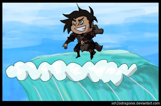 Noatak used Surf! by XxH2oDragonxX