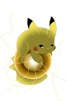 Pikachu's Electro Ball by WeisseEdelweiss