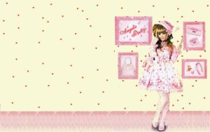 Angelic pretty wallpaper by guillaumes2