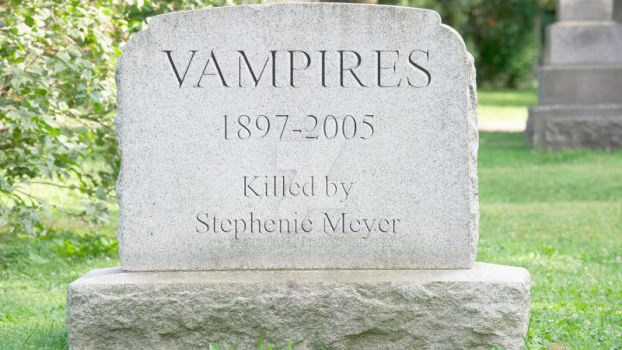 R.I.P. Vampire Genre by DanOlwell
