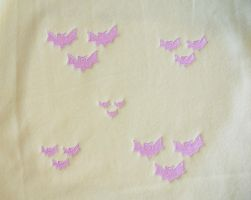 Flutterbat Cutie Mark Embroidery Testing by EthePony