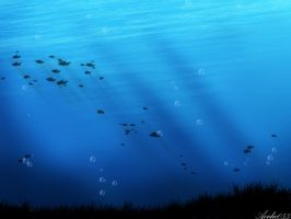Seabed Wall Paper by acidic055