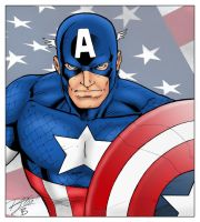 Captain America by statman71