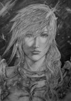 Lightning FFXIII-2 by supersonic-unicorn