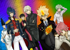Vongola Primo's Family by j9co